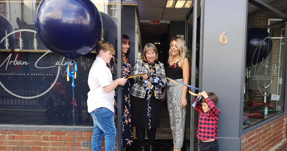 Urban Calm official opening