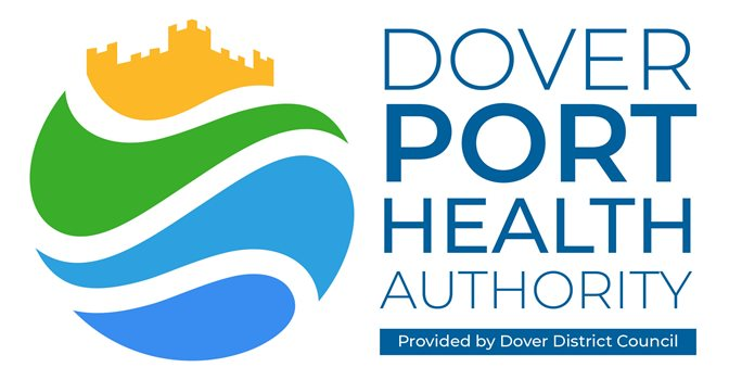 Dover Port Health Authority logo with strap2
