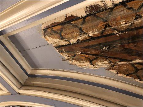 Maison Dieu ceiling panel