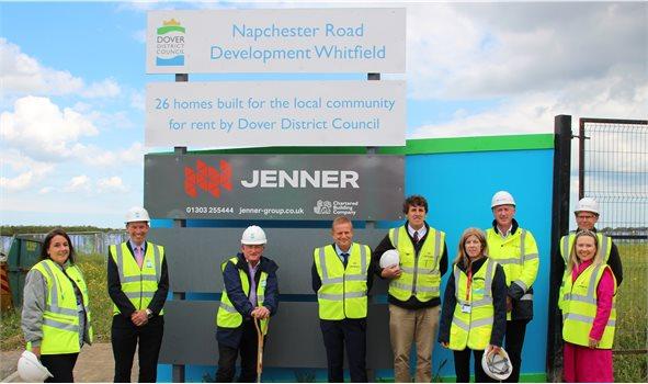 Napchester Road groundbreaking