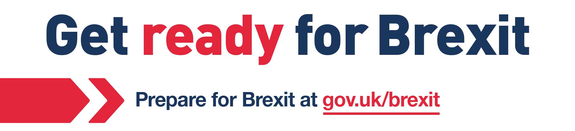 Get ready for Brexit - banner