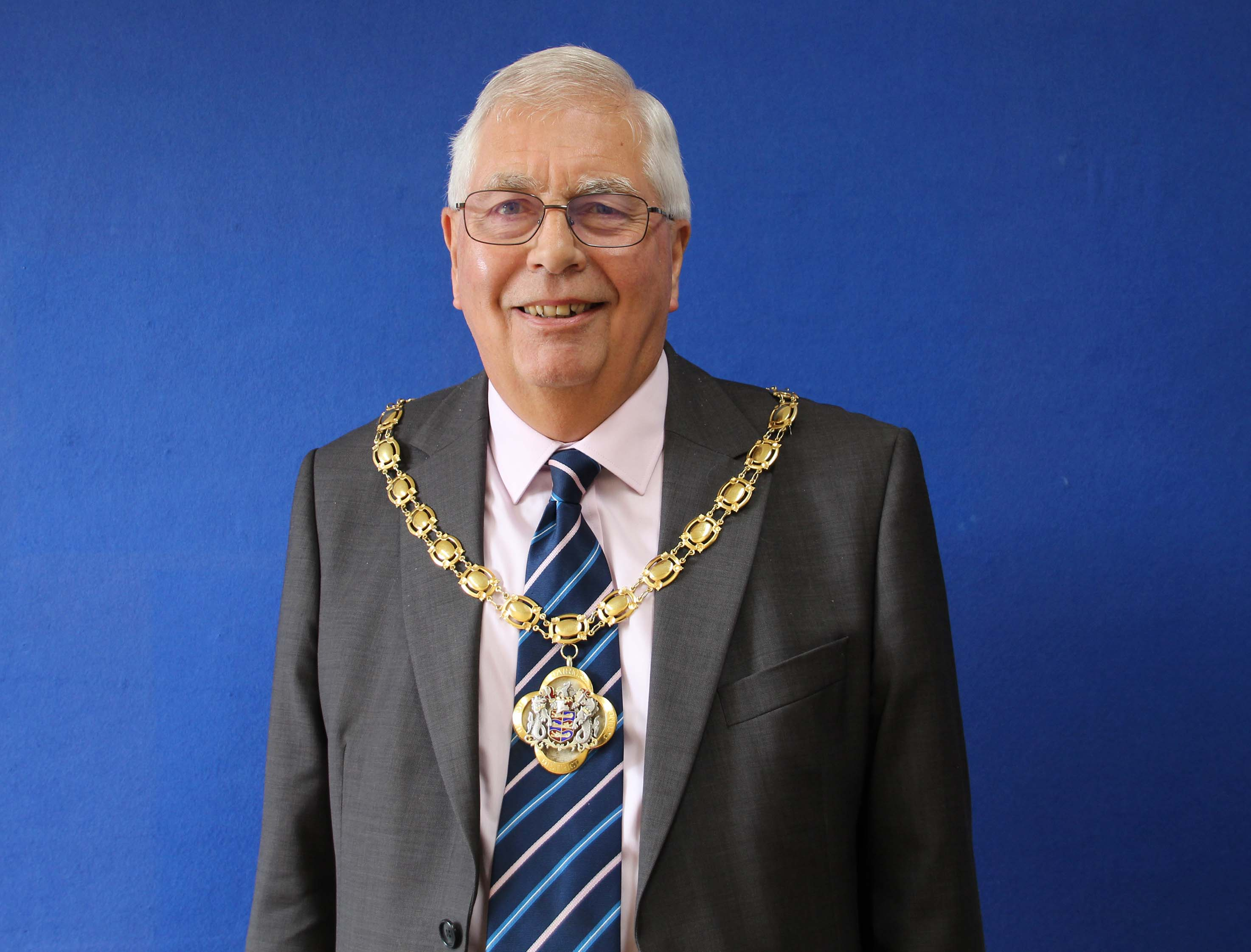 Cllr Mike Conolly - Chairman 2019 square