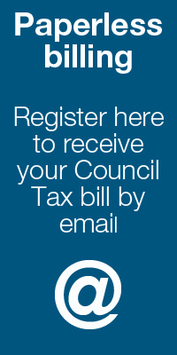 Council Tax paperless billing