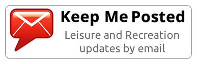 Keep Me Posted Leisure and Recreation email updates