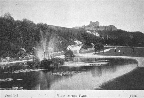 Connaught Park in the late 1800s