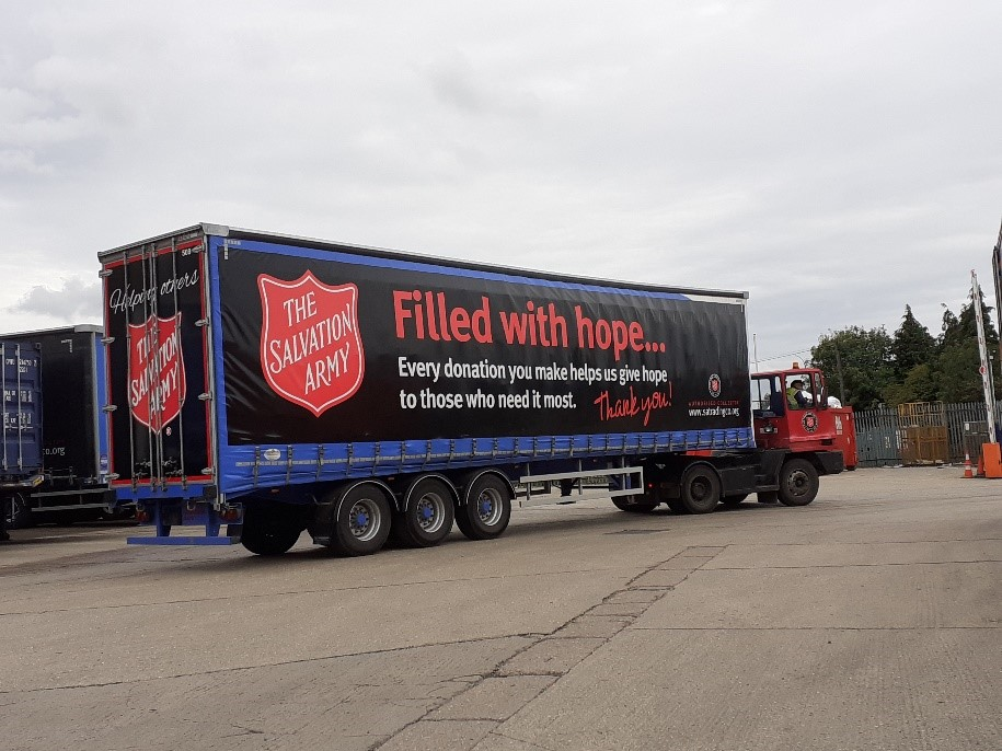 Salvation Army lorry