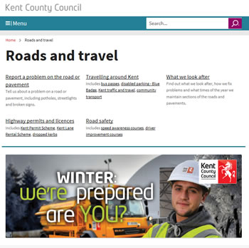 KCC roads and travel